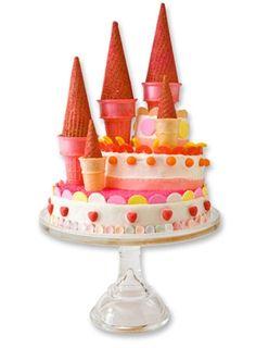 Castillo para cumpleaños felices