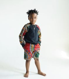 African Babies, African Children, Dashiki Fabric, Barefoot Kids, Boy Fashion, Fashion Outfits, Traditional Styles, Kitenge, African Wear
