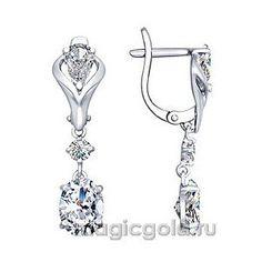 Серебряные серьги с фианитом (1 288 руб.): https://www.magicgold.ru/catalog/earrings-fianit-silver/sergi-s-fianitom-160067/