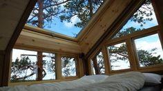 tree top hut | between hamar and lillehammer, norway