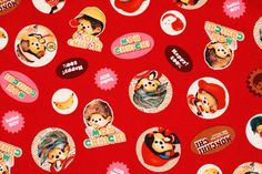 Check out this item in my Etsy shop https://www.etsy.com/listing/505417380/monchhichi-character-fabric-made-in My Etsy Shop