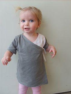 knit wrap shirt tutorial