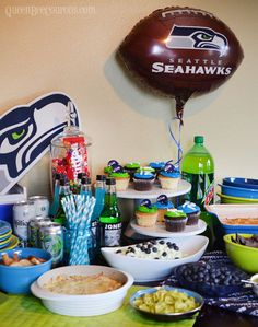 Seahawks Super Bowl Party Ideas. The 12th Man will throw the party of the year!
