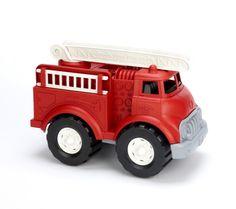 Buy Green Toys Fire Truck - BPA Free, Phthalates Free Imaginative Play Toy for Improving Fine Motor, Gross Motor Skills. Toys for Kids Toy Trucks, Fire Trucks, Dump Trucks, Toys For Little Kids, Kids Toys, Children's Toys, Lego City, Fair Trade Schmuck, Nachhaltiges Design
