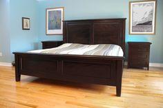 Solid Wood Hudson Ridge King Bed Set http://www.anne-quinn.com/
