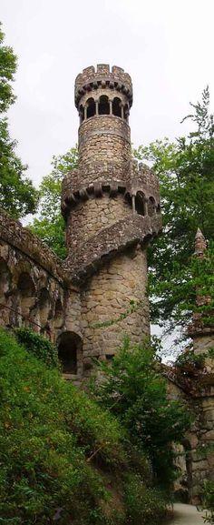 Rigaleira Tower - Quinta da Regaleira - UNESCO World Heritage Site- Sintra | Portugal