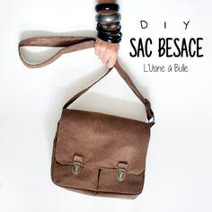 [DIY] Sac besace (patron gratuit) | L'usine à bulle