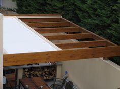 Κατασκευή ανοιγόμενης πέργκολας 30τμ.- Ηράκλειο Κρήτης Pergola, Stairs, Shelves, Lounges, Home Decor, Garden, Tents, Stairway, Shelving