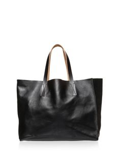 101ea6edfa25 Shopping bag by Marni Black Leather Tote, Leather Bags, Custom Clothes,  Clothes For