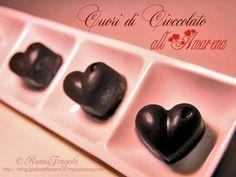 Cuori di cioccolato all'amarena - Rosso Fragola http://blog.giallozafferano.it/myrossofragola/cuori-di-cioccolato-allamarena/