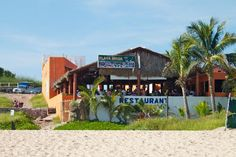 Mr. Lionso Playa Bruja - Restaurant / Pub - 9 minute walk on the beach to the right of RIU Emerald Bay