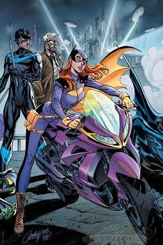 Batman #50 - J Scott Campbell Connecting Variant Cover C