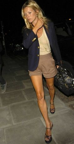 Legs. Yowza. Seriously, though, this makes me reconsider whether two blazers is enough.