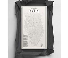 MAPA PARIS - Desli | Design Your Life