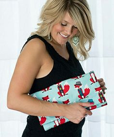 Look what I found on #zulily! Red Fox Diaper Clutch by Brownie Gifts #zulilyfinds