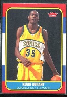 awesome 2007-08 Fleer 1986-87 Rookies #143 Kevin Durant RC Rookie Card - For Sale View more at http://shipperscentral.com/wp/product/2007-08-fleer-1986-87-rookies-143-kevin-durant-rc-rookie-card-for-sale/