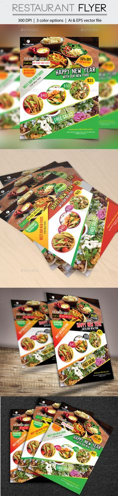 Pizza and Pasta Restaurant Flyer Flyer template, Flyers and - restaurant flyer