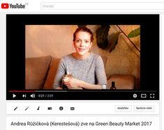 youtube.com - pozvánka - herečka Andrea Růžičková