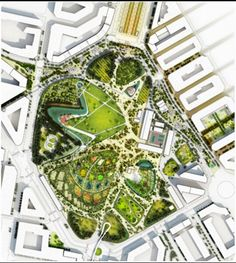 """Projet Valencia Parque Central"" Espagne"