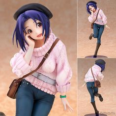 AmiAmi [Character & Hobby Shop] | THE IDOLM@STER - Azusa Miura 1/8 Complete Figure(Released)