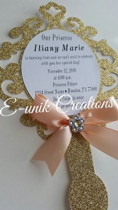 Hey, I found this really awesome Etsy listing at https://www.etsy.com/listing/485107563/princess-mirror-invitation-handheld