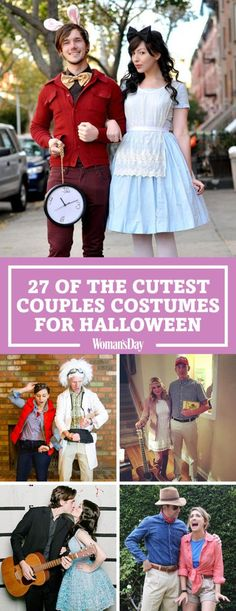 Transform into your favorite famous couples with your significant other by your side, with these funny and creative Halloween couple costume ideas. These last minute ideas are perfect for parties and other Halloween events. Buy these or DIY them with items you already have.