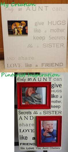 Pinterest project #13: Christmas 2012 present to the Aunts