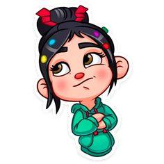 Look at that face. Vanellope Y Ralph, Airbrush Shirts, Vanellope Von Schweetz, Cute Disney Wallpaper, Bottle Cap Images, Line Sticker, Disney Fan Art, Girl Cartoon, Art Drawings