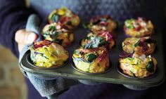 Joe Wicks special: Egg & chorizo muffins