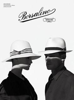 Various Campaigns - Borsalino Spring Summer 2014 www.models.com 4d100799c9a3