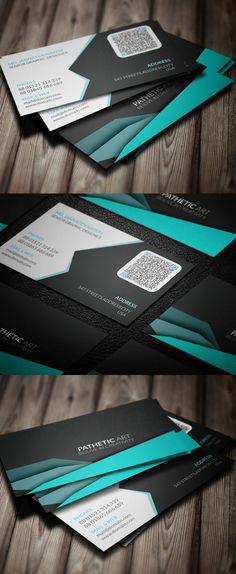 Corporate Creative Business Card Template #businesscards #businesscardtemplates #visitingcards #psdtemplates