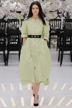 Christian Dior Fall 2014 Couture Fashion Show - Zlata Mangafic