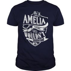 It's Amelia thing, you wouldn't understand