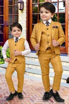 Fashion 2020, Kids Fashion, Stylish Baby Boy, Kids Wear Boys, Baby Boy Dress, Kids Suits, Suit And Tie, Boys Shirts, Beautiful Children