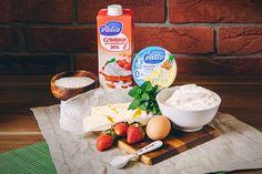 Корзиночки с творожно-ананасовым кремом - пошаговый рецепт приготовления с фото Camembert Cheese, Dairy, Food, Eten, Meals, Diet