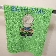 Bath Time Microfiber Towel Baby Wash Cloth by HeartSongCreativeExp, $10.00 Sweet New Baby Gift Idea!