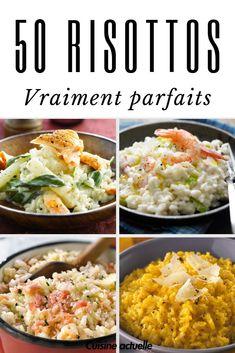 Recette risotto, risotto facile, risotto rapide, risotto milanais, risotto aux asperges, risotto aux crevettes, saumon, parmesan