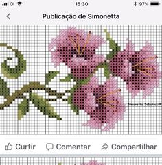 No photo description available. Cross Stitch Rose, Cross Stitch Borders, Cross Stitch Patterns, Bargello, Tribal Art, Crafts To Do, Projects To Try, Instagram, Holy Quran