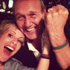 """Emma Caulfield: """"Best night ever! The incomparable Tony Head! @AnthonySHead. Love him! #itscooltobekind"""""""