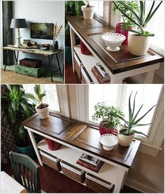 32 Ingenious and Cool Ideas of How To Reurpose Old Doors - love love love these ideas!