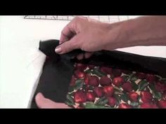 Binding tutorial- Great math tips- Lots of methods but do what looks nice and you do well.