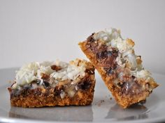 For a cookie so simple, Hello Dolly bars go by many names—it's just as likely that you know them as Magic Cookies or Seven Layer Bars. But no matter their moniker, these are a special breed of cookie-bar hybrids.
