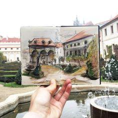 20 Stunning Travel Journals by IEVA OZOLA