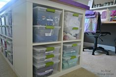 ***Updated June 29, 2016***   Since first sharing this post 3 years ago, I have made several changes to my craft room, but my table has...