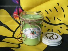 Our Incense and Peppermint candle is an excellent combination of sweet dark chocolate and peppermint!  Hippiemade in the USA!  100% all natural soy wax & essential oils, we use only cotton or hemp wicks for a clean slow burn every time, all of our candles are poured into 8 ounce jars and have ...