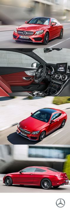 Seductive aesthetics with elevated athletics, the all-new C-Class Coupe cuts a fine figure for any road or runway.