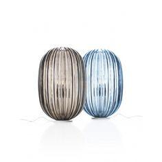 Lampe De Table / Design Original / En Verre De Murano / En Polycarbonate  PLASS MEDIA