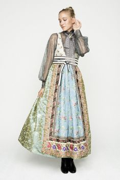 Pretty Outfits, Beautiful Outfits, Costume Ethnique, Fantasy Gowns, Scandinavian Fashion, Folk Fashion, Folk Costume, Embroidery Dress, European Fashion