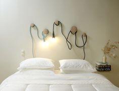 como fazer uma luminária de quarto de casal