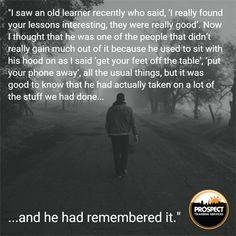 Meet the tutors  Sally's story